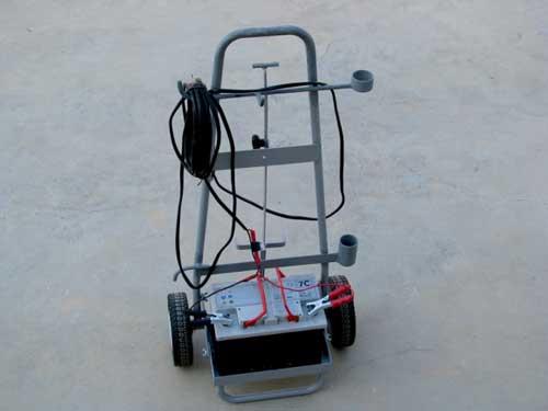 Carrello porta batteria
